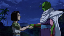Piccolo Shook Hand Android 17