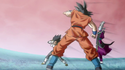 Vegeta, Goku and Whis