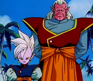 Dois Shin-jins: Supremo Senhor Kaioh e Kibito
