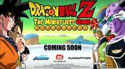 Dragon Ball Z The Miniatures Game coming soon