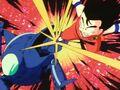 Pilaf machine fighting Goku