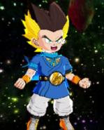 Pinich Super Saiyan Human