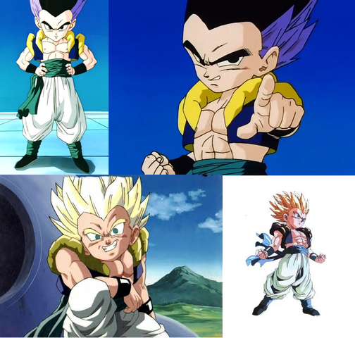 File:Gotenks normal and SSJ.png