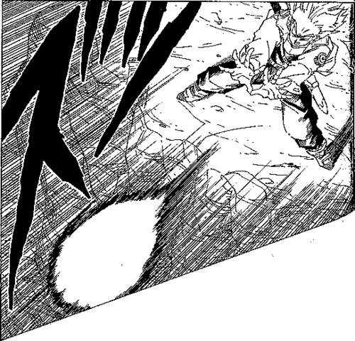 File:DBZ Manga Chapter 331 - SS F Trunks uses Burning Attack 3.PNG