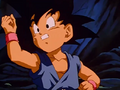Kid goku tied re
