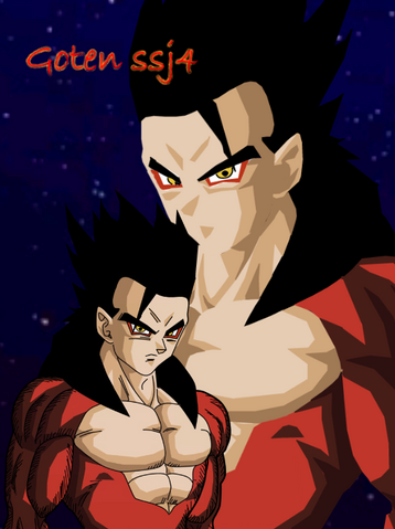File:Goten ssj4 coloreado by maurogoku.png
