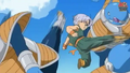 Trunks vs 3 abos 3