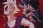 Gohan hit by turles 2