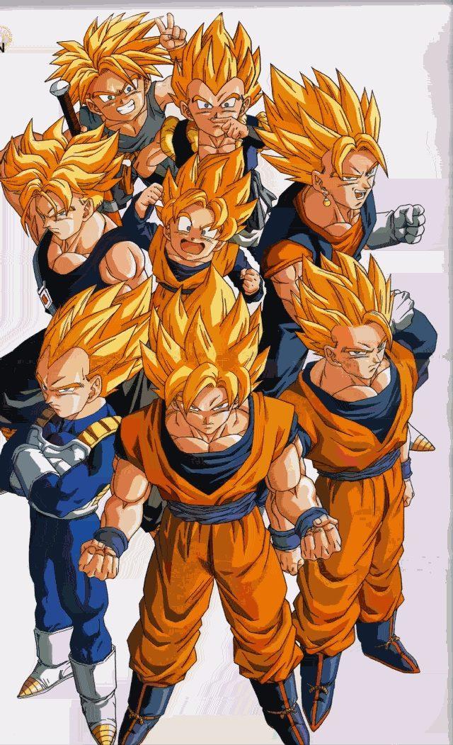 Super saiyan xz dragonball fanon wiki fandom powered - Sangoten super sayen 3 ...