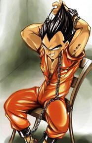 Demonic Vegeta In HFIL Prison
