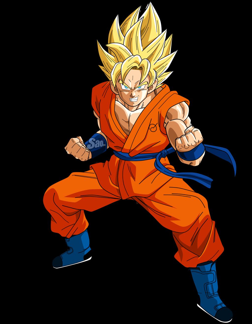 Imagen  SSJ decisivo Gokupng  Dragon Ball Fanon Wiki  FANDOM