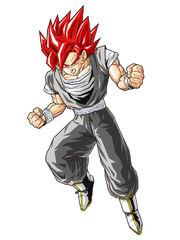 SSJ Evil Goku by Z Dragon