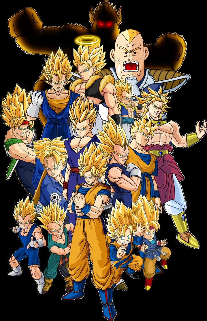 Super Saiyan | Dragon Ball Wiki | FANDOM powered by Wikia