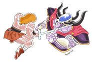 Dragon Ball Multiverse(Emperor Blizzard-Second Restriction Form) Vs Kramm