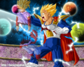 Dragon Ball Multiverse(Prince Vegeta-Super Saiyan 2) Mortally Wounded