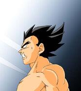 Dragon Ball Multiverse(Future Vegeta) Disbelief