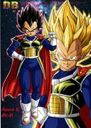 Dragon Ball Multiverse(Ghost Vegeta) A Divine Warrior For Dr. Raichi