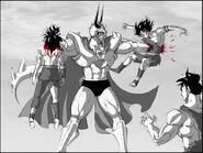 Dragon Ball Multiverse(Chilled-Second Restriction Form) Killing Off Saiyans