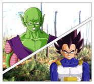 Dragon Ball Multiverse(Piccolo) Confronting Vegeta