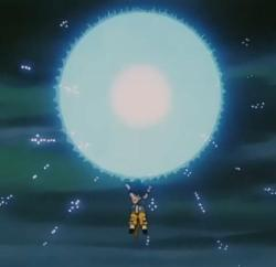 Goku universal spirit bomb