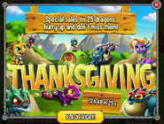 Black Friday Thanksgiving intro