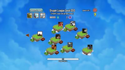 Dragon League Level 200