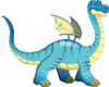 Brontosaurus Dragon 3