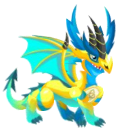 how to draw electric dragon in dragon city