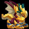 Glitter Dragon 2