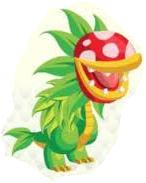 Carnivore plant dragon