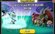 Congratulations Mystic Blizzrad