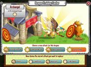 Archangel Dragon-Attack List