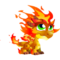 Double Flame Dragon 1