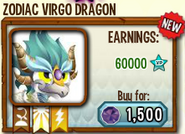 Zodiac Virgo in Store