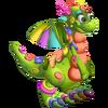 Clay Dragon 2