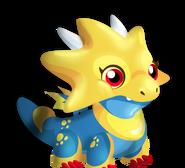 Dragon yellow