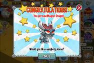Magnet Congrats