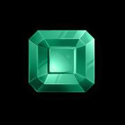 Squared Emerald