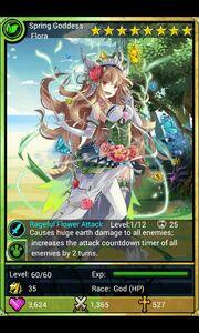 Spring Goddess Flora
