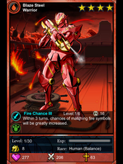 Warrior fire