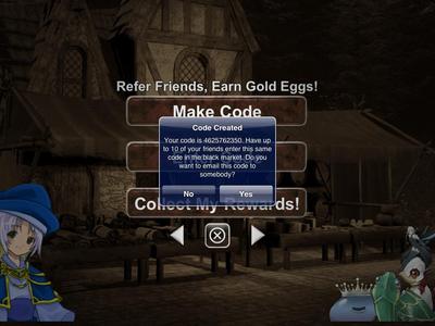Golden Egg Codes