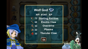 Wolf God Stat