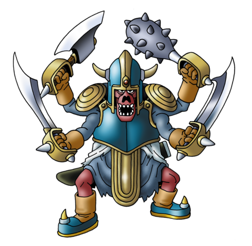 File:DQVIII - Zombie gladiator.png