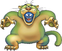 DQVII3DS - Shabby cat