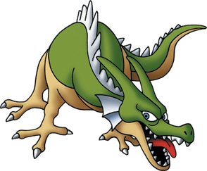 File:DQMJ2 - Green dragon.png