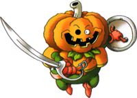DQMTW3D - Pumpkin knight