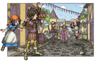 DQIX - People coming to Quester's Inn