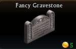 Fancy Gravestone