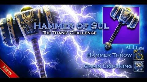Weapon Info Hammer of Sul