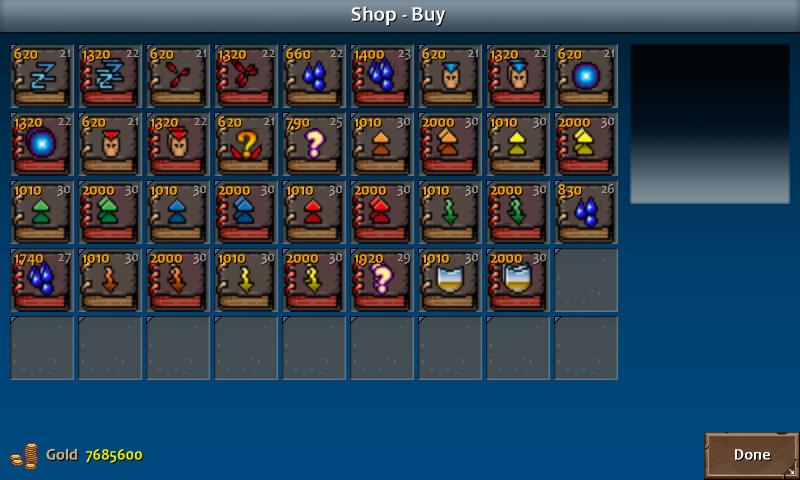 Shop 4 shadow spells enc